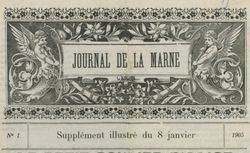 """Accéder à la page """"Journal de la Marne. Supplément illustré"""""""