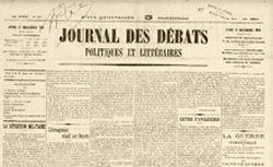 """Accéder à la page """"Journal des Débats politiques et littéraires (Le)"""""""