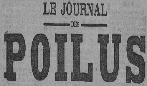 """Accéder à la page """"Journal des poilus (Reims)"""""""