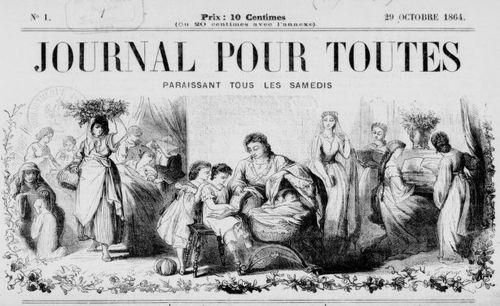 """Accéder à la page """"Journal pour toutes"""""""