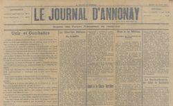 """Accéder à la page """"Journal d'Annonay (Le)"""""""