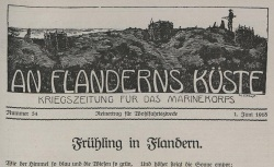 """Accéder à la page """"An Flanderns Küste"""""""