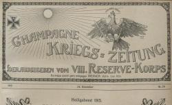 """Accéder à la page """"Champagne Krieg-Zeitung"""""""