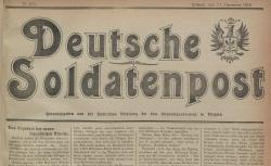 """Accéder à la page """"Deutsche Soldatenpost"""""""