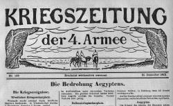 "Accéder à la page ""Kriegszeitung der 4ten Armee, suite de : Kriegszeitung Oorlogsgazet"""