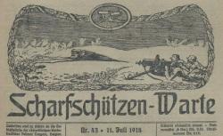 """Accéder à la page """"Scharfschützen-Warte"""""""