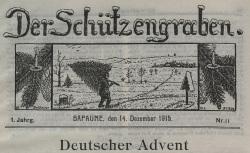 """Accéder à la page """"Schützengraben (Der)"""""""