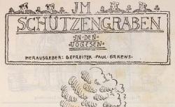 """Accéder à la page """"Schützengraben in den Vogesen"""""""