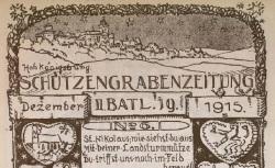 """Accéder à la page """"Schützengrabenzeitung"""""""