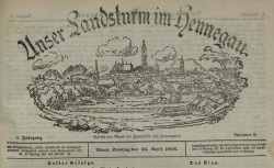 """Accéder à la page """"Unser Landsturm im Hennegau"""""""