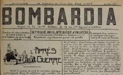 """Accéder à la page """"Journaux de l'artillerie"""""""
