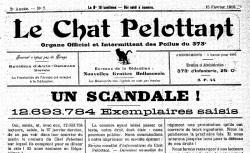 """Accéder à la page """"Chat pelottant (Le)"""""""