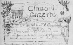 """Accéder à la page """"Cingoli-gazette"""""""