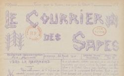 """Accéder à la page """"Courrier des sapes (Le)"""""""