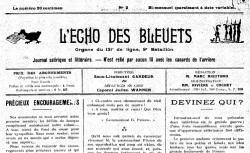 """Accéder à la page """"Echo des bleuets (L')"""""""