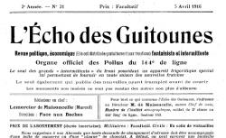 """Accéder à la page """"Echo des guitounes"""""""