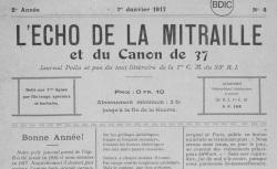 """Accéder à la page """"Echo de la mitraille [et du canon de 37] (L')"""""""
