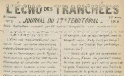 """Accéder à la page """"Echo des tranchées (L')"""""""