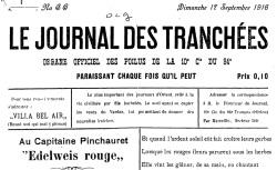 """Accéder à la page """"Journal des tranchées (Le)"""""""
