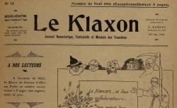 """Accéder à la page """"Klaxon (Le)"""""""
