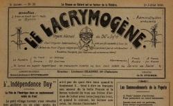 """Accéder à la page """"Lacrymogène (Le)"""""""