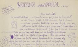 """Accéder à la page """"Lettres d'un poilu"""""""
