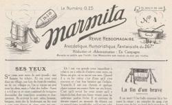 """Accéder à la page """"Marmita"""""""