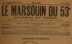 """Accéder à la page """"Marsouin du 53e (Le)"""""""