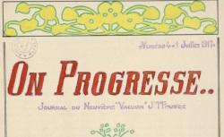 """Accéder à la page """"On progresse..."""""""