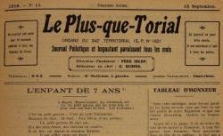 """Accéder à la page """"Plus-que-torrial (Le)"""""""