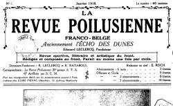 """Accéder à la page """"Revue poilusienne franco-belge"""""""
