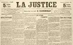 """Accéder à la page """"Justice (La)"""""""