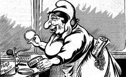 """Accéder à la page """"Caricature (La ) : publication de la Librairie illustrée"""""""