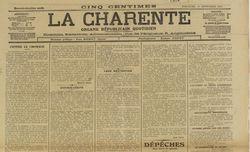 """Accéder à la page """"Charente (La)"""""""