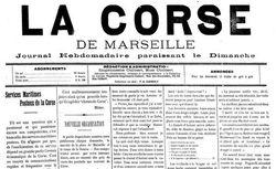 """Accéder à la page """"Corse de Marseille (La )"""""""