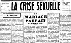 """Accéder à la page """"Crise sexuelle (La)"""""""