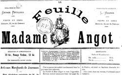 """Accéder à la page """"Feuille de Madame Angot (La)"""""""