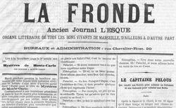 """Accéder à la page """"Fronde (La )  """""""
