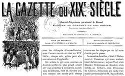 """Accéder à la page """"Gazette du XIXe siècle (La) """""""