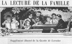 """Accéder à la page """"Lecture de la famille (La)"""""""