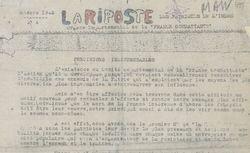"""Accéder à la page """"Riposte des patriotes de l'Indre (La)"""""""