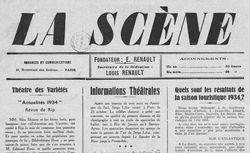 """Accéder à la page """"Scène (La ) : programme quotidien des spectacles """""""