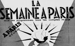 """Accéder à la page """"Semaine à Paris (La)"""""""
