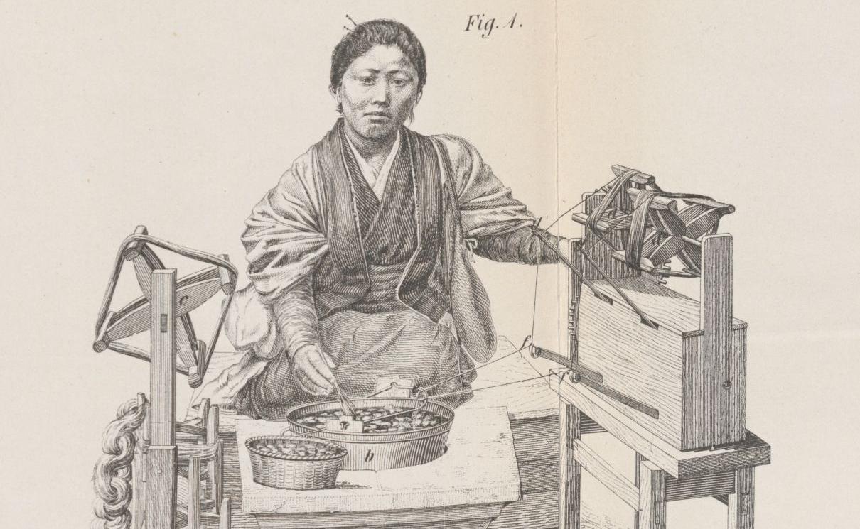 E. de Bavier. La sériciculture, le commerce des soies et des graines..., 1874. S-6912