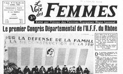"""Accéder à la page """"Voix des femmes (La)"""""""