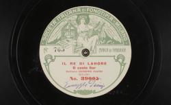 """Il re di Lahore (Le Roi de Lohore) : """"O casto fior"""" ; Jules Massenet, comp. ; Giuseppe Pacini, BAR ; acc. de piano - source : gallica.bnf.fr / BnF"""