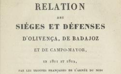 """Accéder à la page """"Lamare, général, Relations de 1811 et 1812"""""""