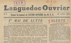 """Accéder à la page """"Languedoc ouvrier"""""""