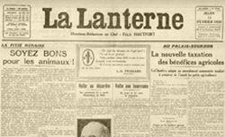"""Accéder à la page """"Lanterne (La)"""""""