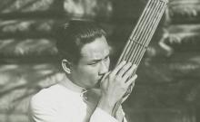 Chant, musique d'orchestre, ensembles et solos de khènes (8 disques)